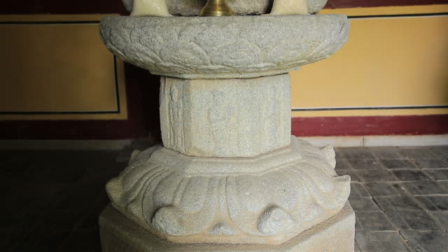 Shot of Stone Buddha at Mulgeolrisaji Temple