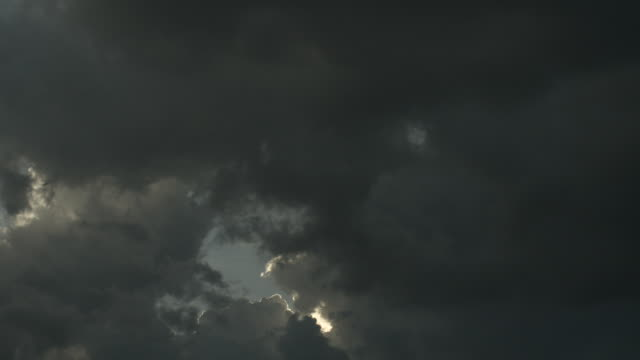 shot of storm clouds gathering. - storm cloud stock videos & royalty-free footage
