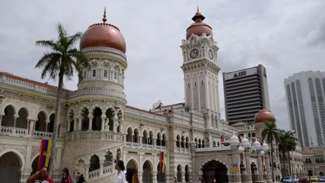 MS Shot of Sultan Abdul Samad Building / Kuala Lumpur, Malaysia