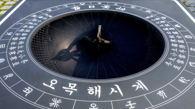 Shot of Sundial at Yeoju