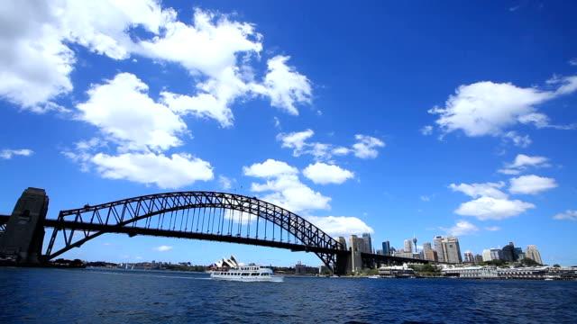 Shot of Sydney Harbor Bridge and Opera House