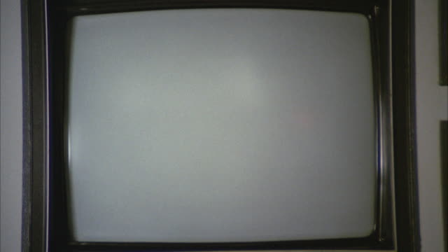 CU Shot of television set