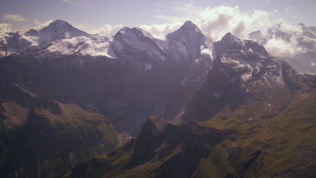 Shot of the majestic Swiss alps