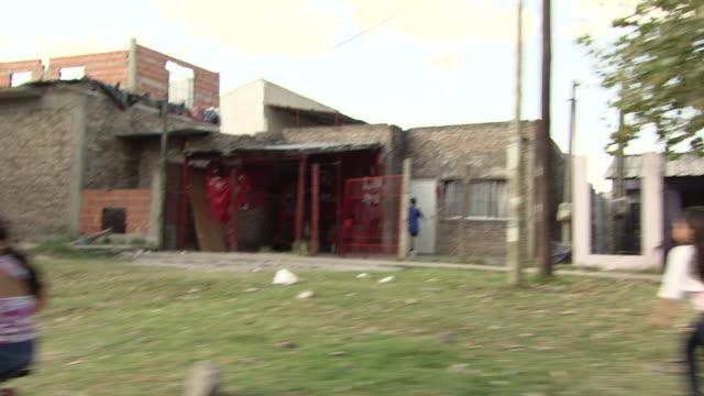 vídeos y material grabado en eventos de stock de ms pov shot of town road / buenos aires, argentina - buenos aires
