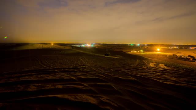 T/L 8K shot of traffic lights in the desert
