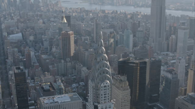 'MS DS AERIAL Shot of Trump World Tower / New York City, United States '