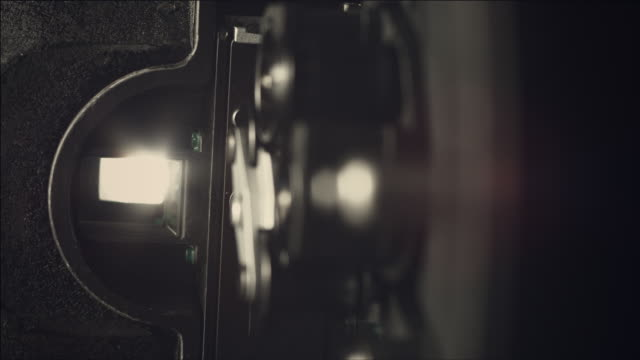 Shot of viewfinder during open Aperture of film camera