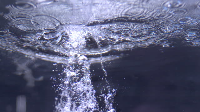 Shot of Water Bubbles
