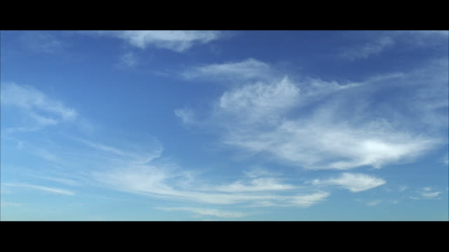 ms shot of white clouds / unspecified - cloud sky stock videos & royalty-free footage