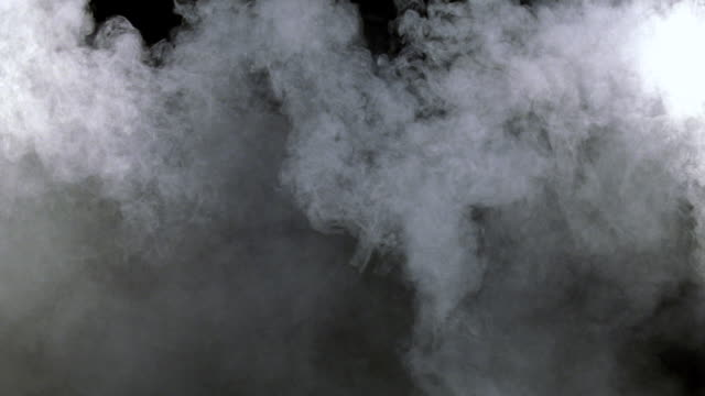 CU Shot of white smoke