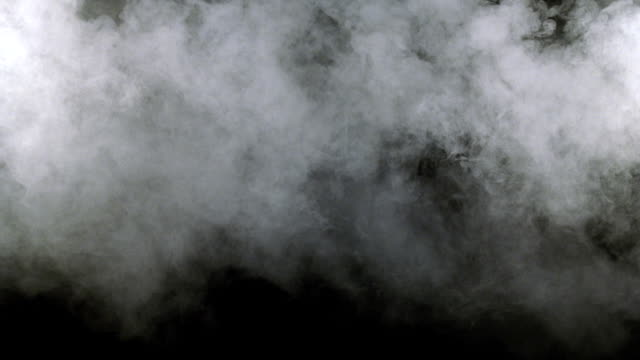 cu shot of white smoke  - smoke physical structure stock videos and b-roll footage
