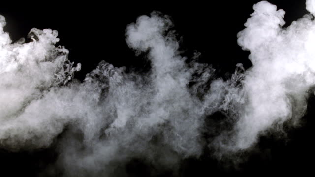 cu shot of white smoke  - 煙点の映像素材/bロール