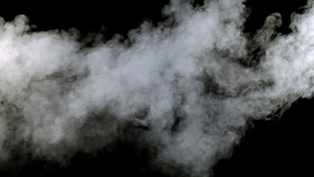 cu shot of white smoke  - smoke physical structure stock videos & royalty-free footage