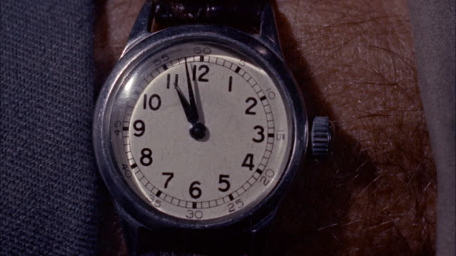 cu shot of wrist watch / unspecified - wrist watch stock videos & royalty-free footage