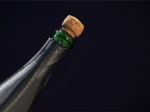 shot stopper from the bottle - cork stopper stock videos & royalty-free footage