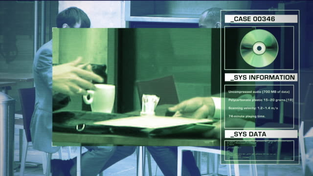 Shot to illustrate security, technology and identity themes