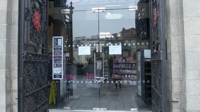 shots of hmv guernsey after it was announced that it will be one among the first stores to close. locals give their reactions to the store's closing. - guernsey stock videos & royalty-free footage
