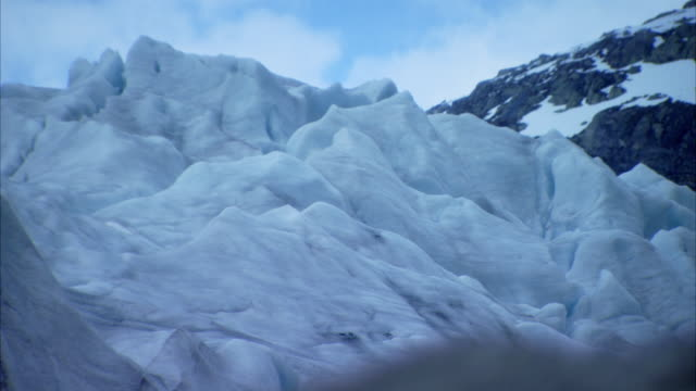 Shots of melting ice at Nigardsbreen glacier