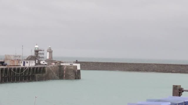 shots of st peter's port in guernsey as an aircraft is found the search for missing footballer emiliano sala and pilot david ibbotson. - guernsey stock videos & royalty-free footage