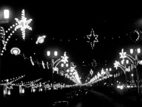 shots of the famous blackpool illuminations. - blackpool stock videos & royalty-free footage