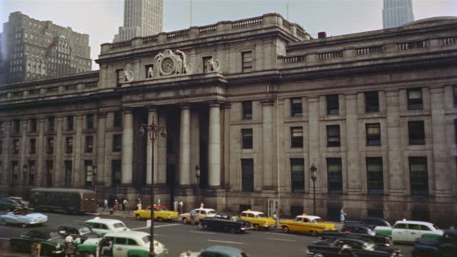 2 shots, Old Penn Station exterior