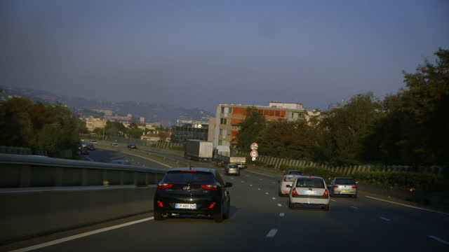 pov shots on french motorway - var stock videos & royalty-free footage