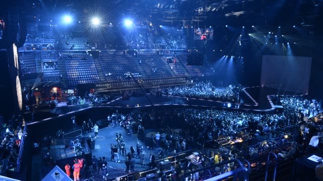 TIMELAPSE Show at MTV Europe Music Awards 2015 Milan Timelapse on October 25 2015 in Milan
