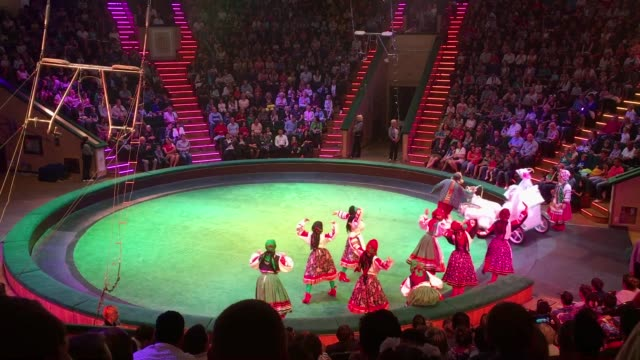 a show at the minsk state circus on july 03 2017 in minsk belarus the postsoviet republic of belarus borders poland to its west lithuania to its... - belarus stock videos & royalty-free footage