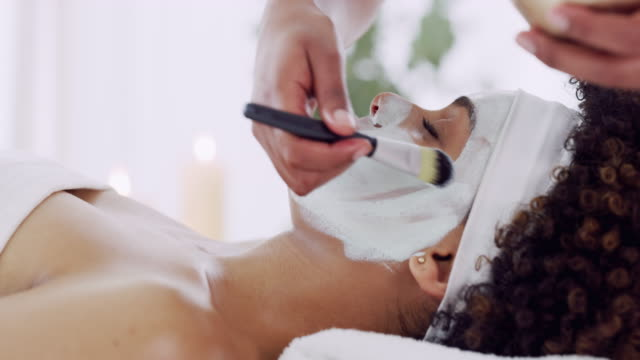 show your skin some love - beauty spa stock videos & royalty-free footage