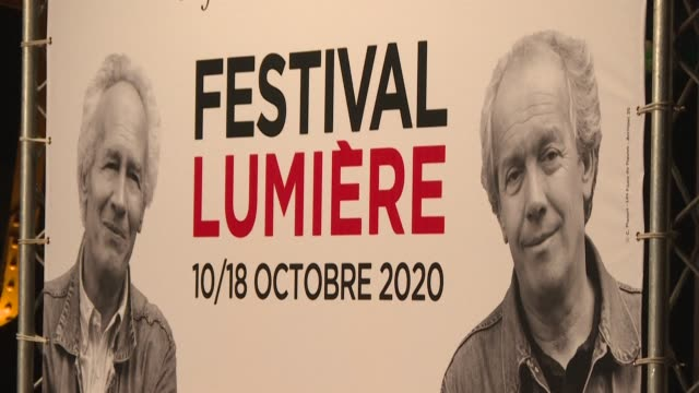 a showcase for classics rerun on the big screen a rendezvous for big names in cinema and this year a window on a selection of films destined for... - lumière stock videos & royalty-free footage