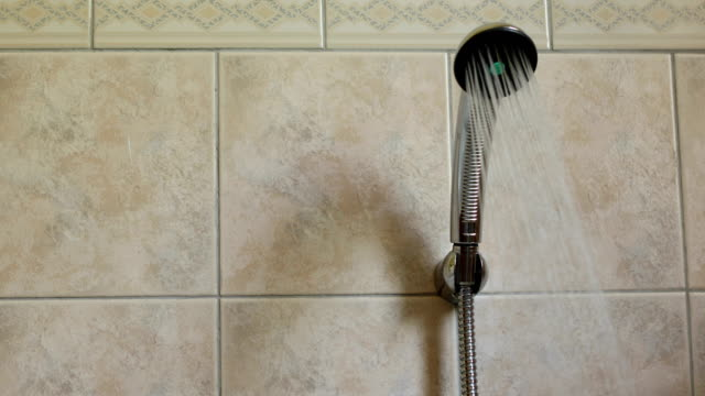 shower - bathroom stock videos & royalty-free footage
