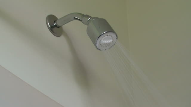 hd shower video - shower head stock videos & royalty-free footage