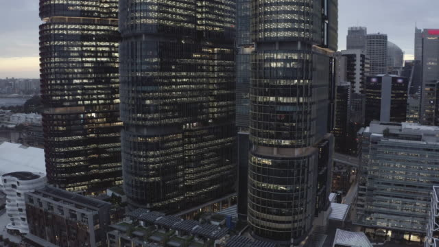showing off the city's stunning architecture - downtown stock videos & royalty-free footage