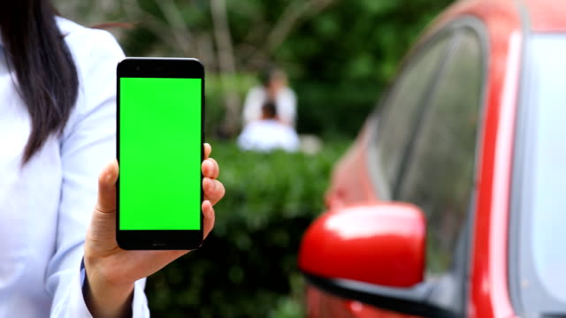 showing smart phone chroma key - car chroma key stock videos & royalty-free footage