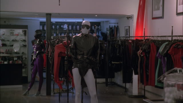 PAN Showing the inside of a fetish wear store / New York City, New York, United States