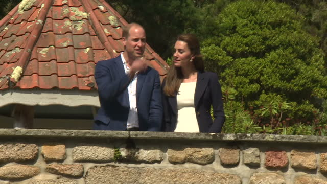 shows exterior shots boat runway and harbour in scilly isles in mist. exterior shots prince william, duke of cambridge, and catherine, duchess of... - isles of scilly stock videos & royalty-free footage