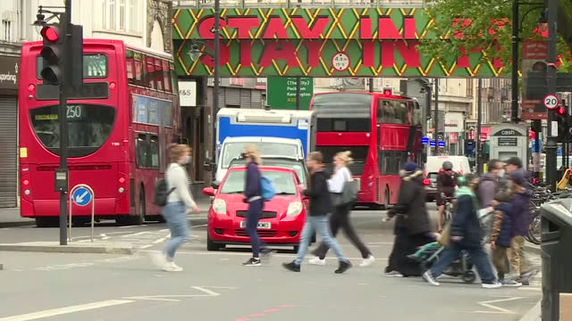 shows exterior shots brixton street scenes, traffic, london buses, pedestrians, murals, on 23rd may, 2021 in london, england, united kingdom - pedestrian crossing stock videos & royalty-free footage