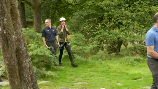 GBR: Catherine Duchess of Cambridge visits the Lake District
