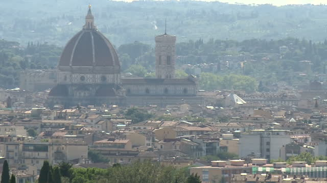 shows exterior shots florence city skyline including the duomo of santa maria del fiore exterior shots european university institute tuscan villa and... - fiore stock videos & royalty-free footage