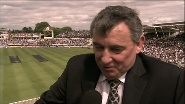 shows exterior shots interview soundbite with former england manager graham taylor speaking on memories of footballer bobby robson on august 8th 2009... - major league soccer stock videos and b-roll footage