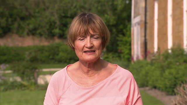 shows exterior shots interview with baroness tessa jowell on doping amongst athletes. on may 27, 2016 in london, england. - baroness stock videos & royalty-free footage