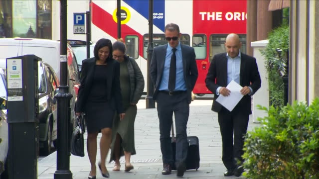 shows exterior shots marcio and andreia gomes arriving for phase 1 grenfell inquiry hearings. the public inquiry into the grenfell disaster has... - phase image stock videos & royalty-free footage