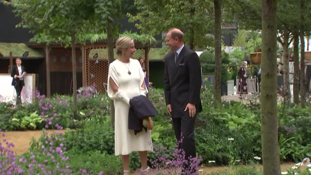 GBR: Members of the British Royal family attend THE RHS Chelsea Flower Show