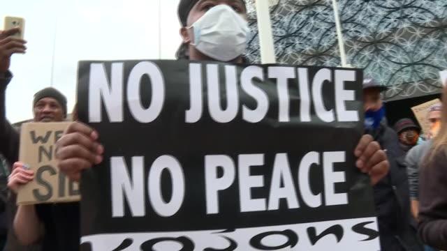 GBR: Black Lives Matter protest held in Birmingham, UK