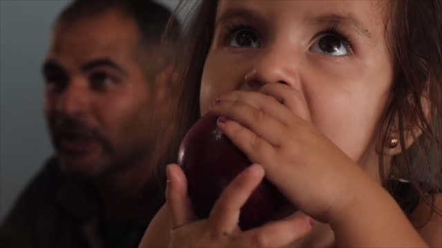 shows exterior shots refugee kurdish families living in trucks so they can easily move away from the fighting interior shots kurds reacting to the... - conflict stock videos & royalty-free footage