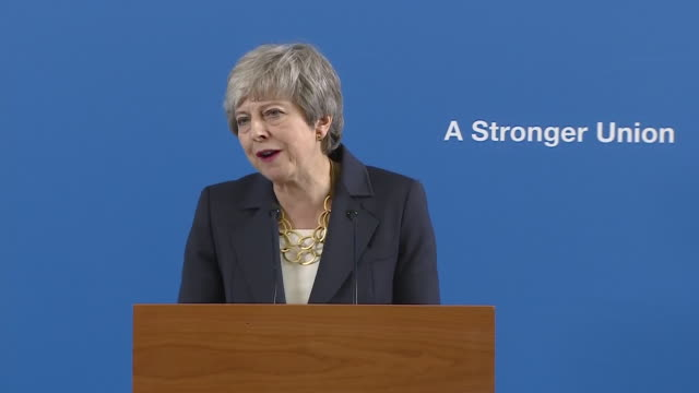 shows exterior shots stirling town and surroundings in scotland, interior shots uk prime minister theresa may giving speech warning on dangers of... - stirling stock videos & royalty-free footage