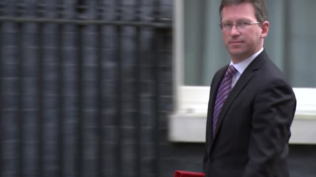 Shows exterior shots UK's Secretary of State for Digital Culture Media and Sport Jeremy Wright MP arriving at Downing Street for knife crime summit...