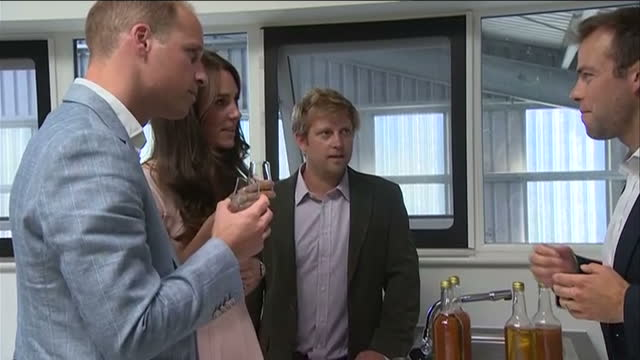 shows exterior splitscreen shots prince charles visiting cornwall in 2013 and prince william and catherine visiting truro exterior shots william and... - cornwall england stock videos and b-roll footage