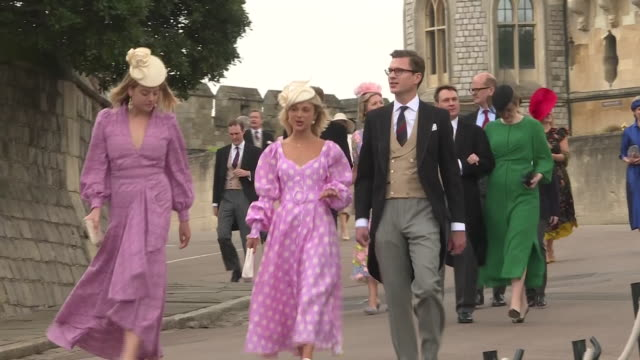 Shows guests including Flora Ogilvy and Lady Amelia Windsor as well as Alexander Windsor Earl of Ulster and Claire Booth Countess of Ulster Lord...