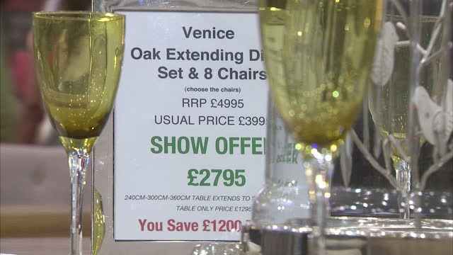 shows ideal home exhibition, consumer goods fair with cars, home goods such as furniture on display on march 20, 2014 in london, england. - exhibition stock videos & royalty-free footage
